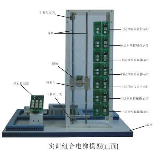 教学实训组合电梯模型
