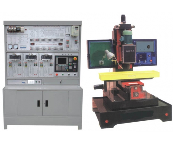 数控铣床电气控制与维修实训系统