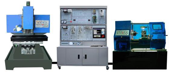 数控车铣床综合电气控制与维修实训装置